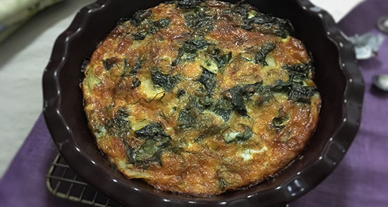 An Eggsceptional Crustless Quiche for any time of the day