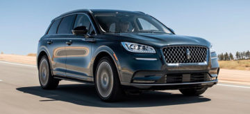 Lincoln Corsair dripping with luxury features