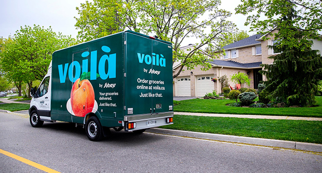Voilà sobeys food groceries delivery
