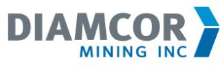 Diamcor Issues Bi-Weekly MCTO Default Status Report
