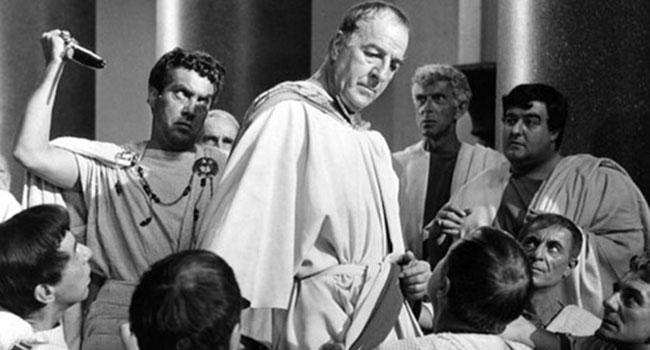 Julius Caesar's assassins paid the price