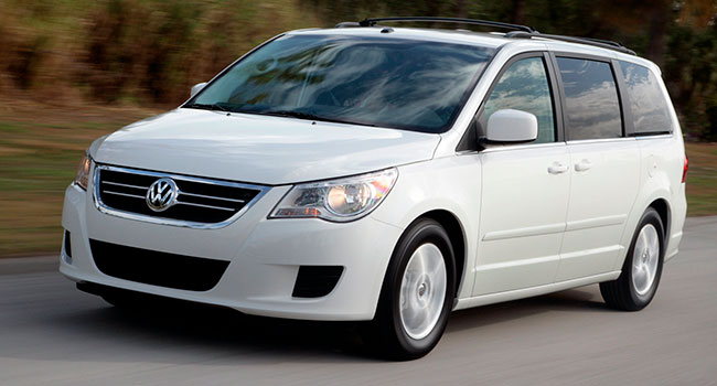The 2010 Volkswagen Routan