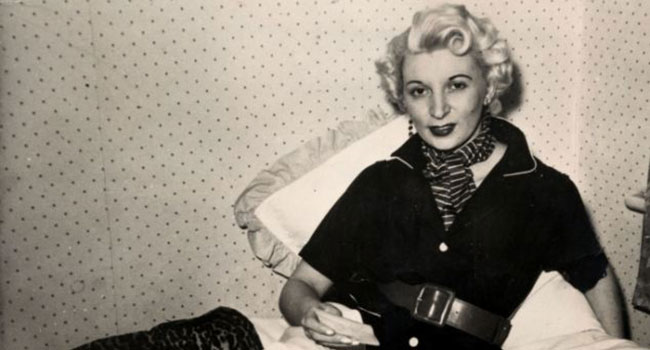 Ruth Ellis the last hanged woman in Britain