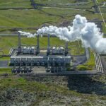 Geothermal energy plant natural renewable resource facility